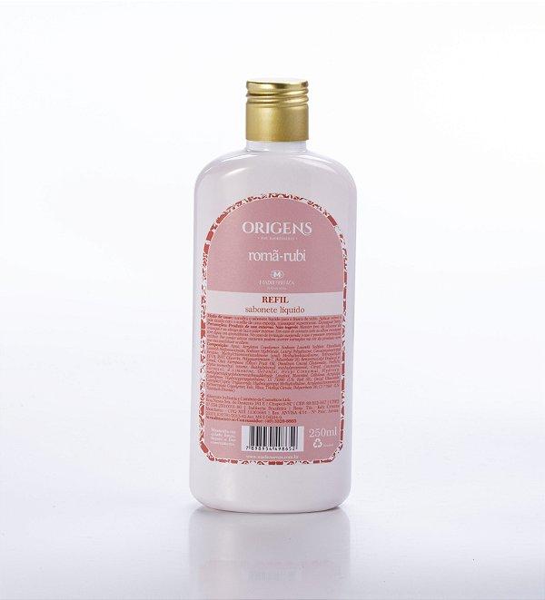 Refil sabonete líquido Romã-Rubi - 250ml
