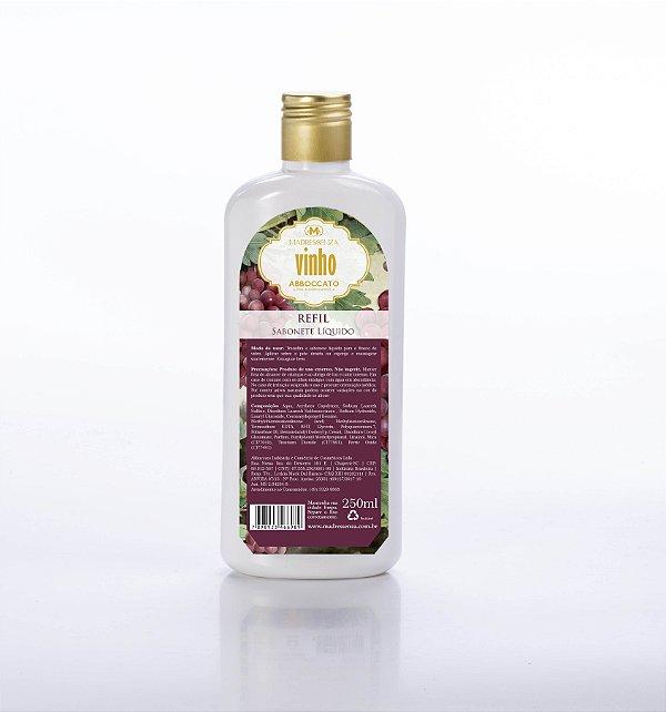 Refil sabonete líquido Vinho - 250ml