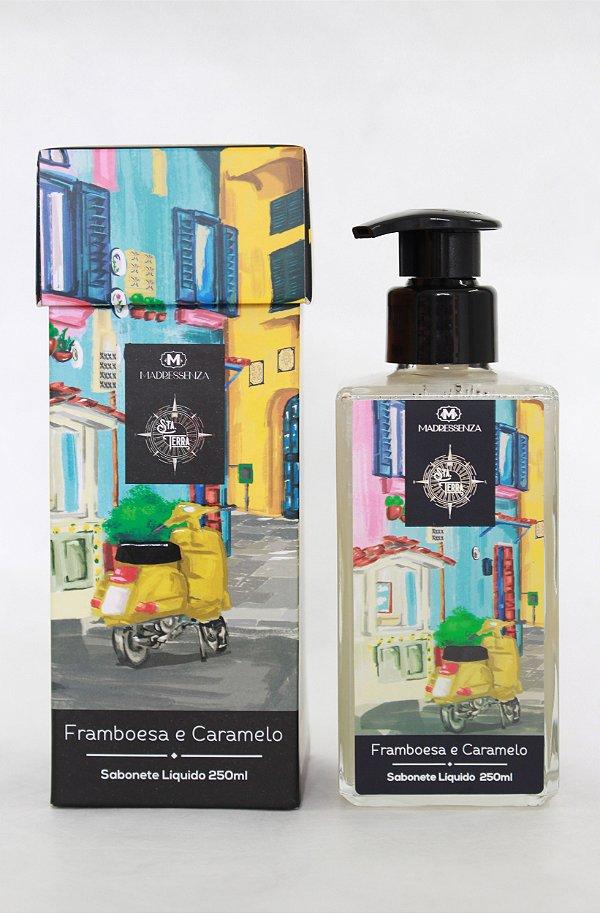 Sabonete líquido Framboesa e Caramelo - 250ml