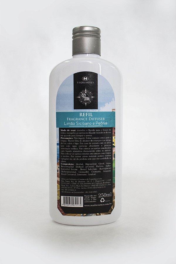 Refil difusor de ambiente Limão Siciliano e Peônia - 250ml