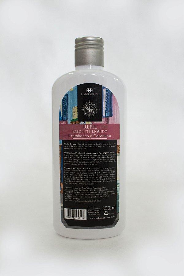 Refil sabonete líquido Framboesa e Caramelo - 250ml