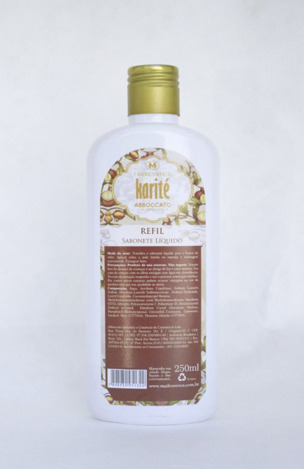 Refil Sabonete líquido Karité 250ml