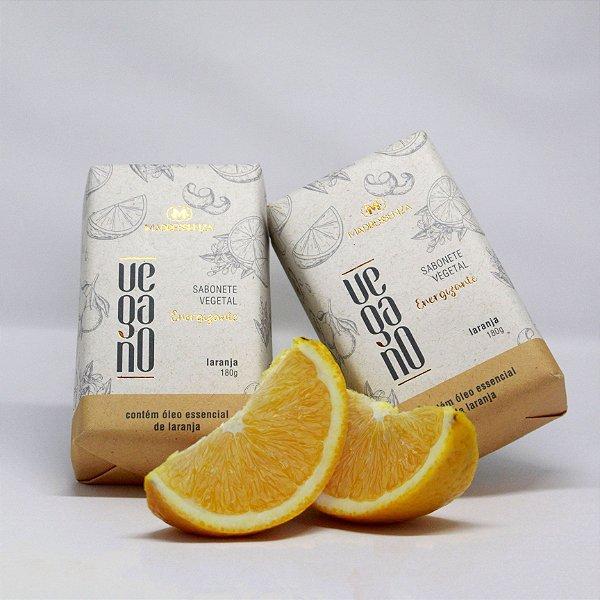 Sabonete Vegano Energizante (Laranja) - 180g