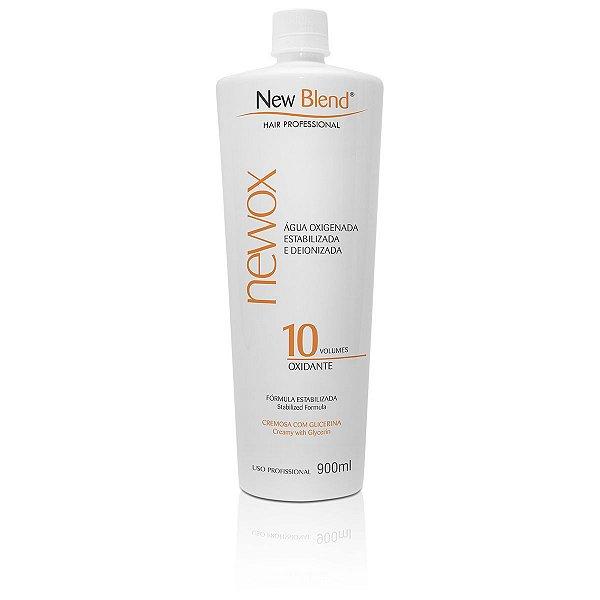 Água Oxigenada NewOx 10 volumes - estabilizada e deionizada 900ml