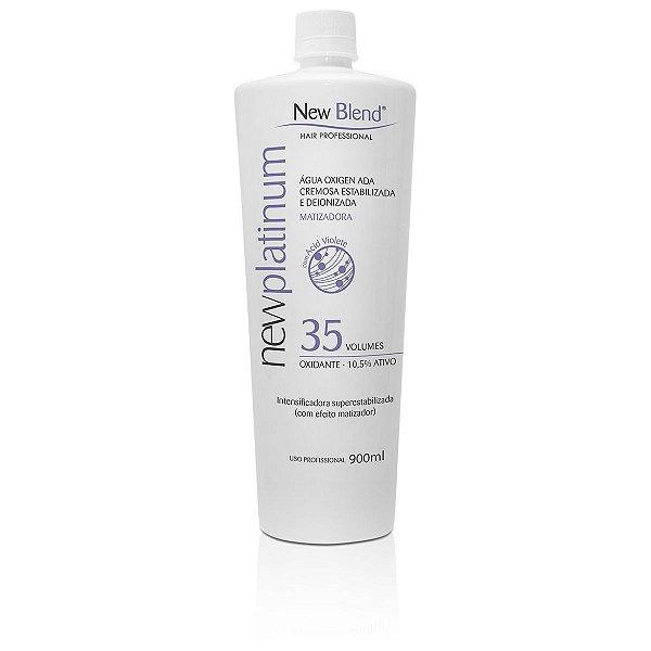 NewPlatinum 35 volumes - água oxigenada estabilizada e deionizada 900ml