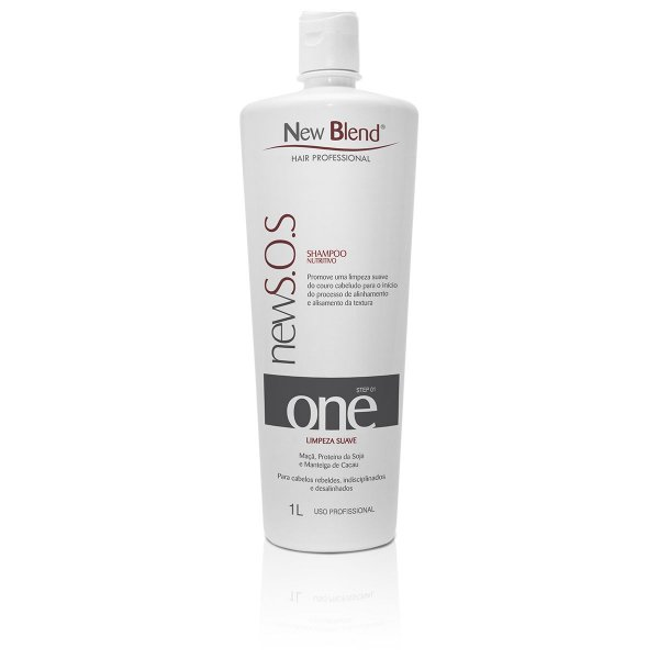 Shampoo NewS.O.S 1L - step 01