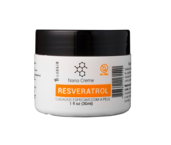 Nano Creme Resveratrol 30ml