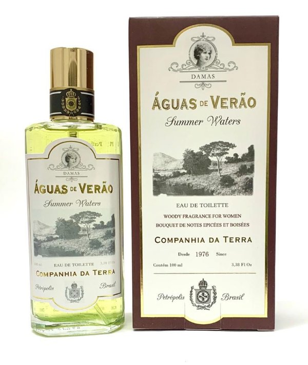 Perfume Águas de Verão Damas 100 ml Companhia da Terra