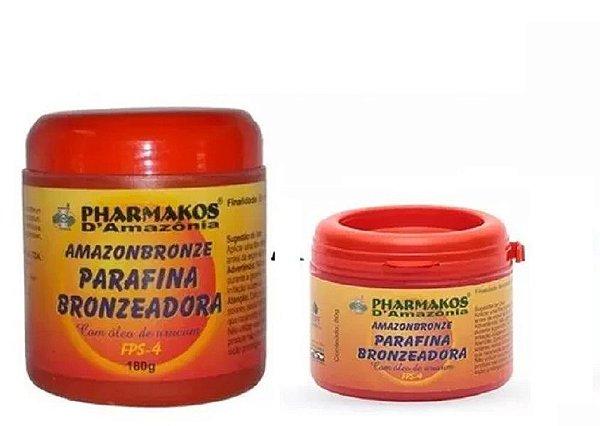 Kit Parafina Bronzeadora 180g + Parafina Bronzeadora 80g - Pharmakos