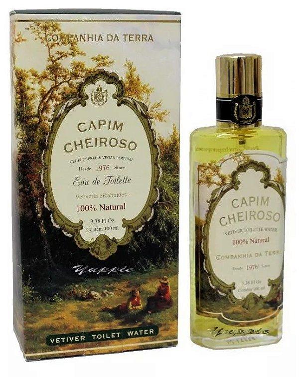 Perfume Capim Cheiroso 100ml Cia da Terra