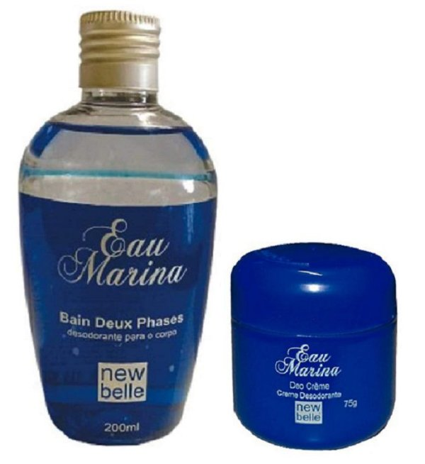 Kit Eau Marina - Óleo EAU Phases  + Desodorante Pote Creme