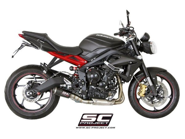SC Project CR-T Triumph Street Triple 675 R 13/16 Carbon