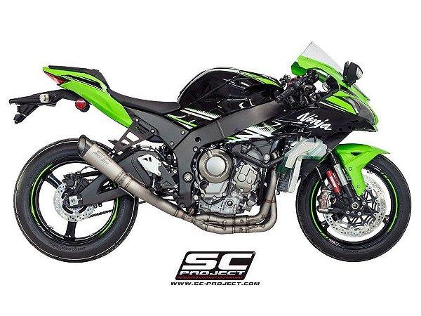SC Project S1 4-2-1 Full Titanium Kawasaki ZX-10R