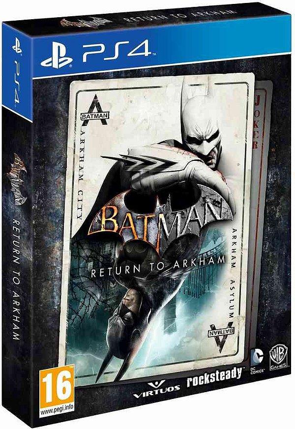 Batman - Return To Arkham - Edição Limitada - PS4