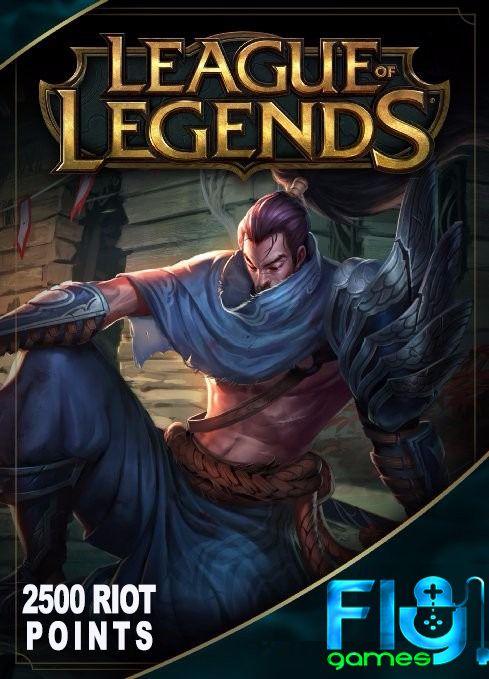league of legends 2500 riot points - lol 2500 rp