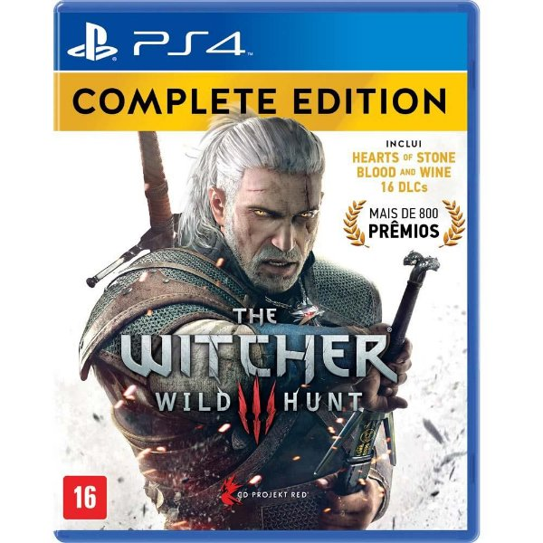 The Witcher III - Wild Hunt - Complete Edition - PS4