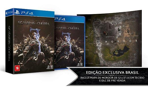 Terra-Média: Sombras da Guerra - Edição Limitada - PS4