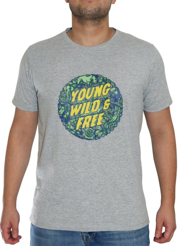 YOUNG, WILD & FREE - MASCULINA