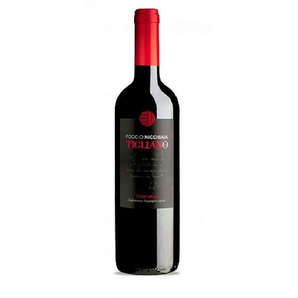 Vinho Tinto Tigliano  (Poggio Nicchiaia) 750 mL