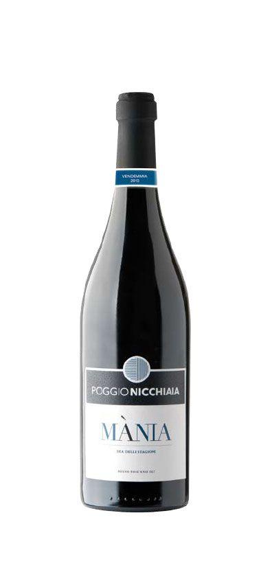 "Vinho IGT Rosso Toscano ""Mánia"" (PoggioNicchiaia) - 750 mL"