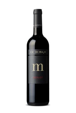 "Vinho Tinto M ""Merlot"" (Ca' Di' Rajo) - 750 mL"