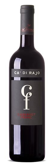 "Vinho Tinto CF ""Cabernet Franc"" (Ca' Di' Rajo) 750 mL"
