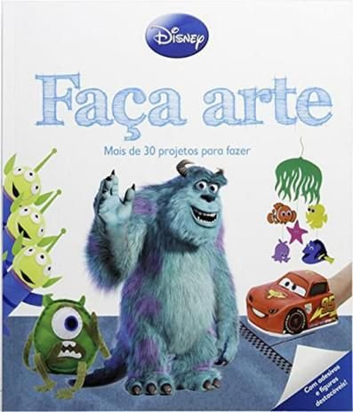 Livro Faça Arte - Disney