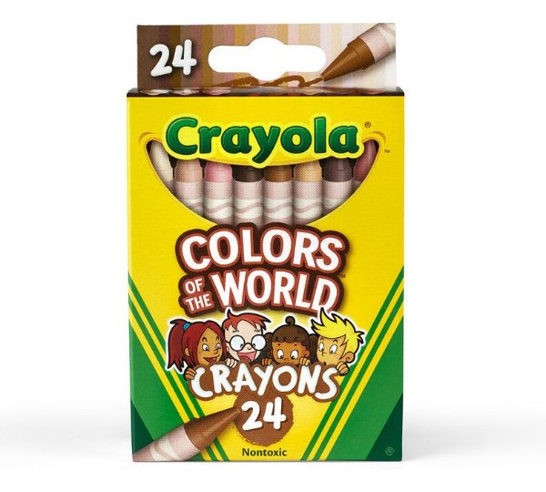 Colors of the World - Giz de Cera - 24 cores