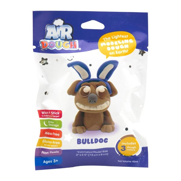Massinha de Ar - Air Dough - Bulldog