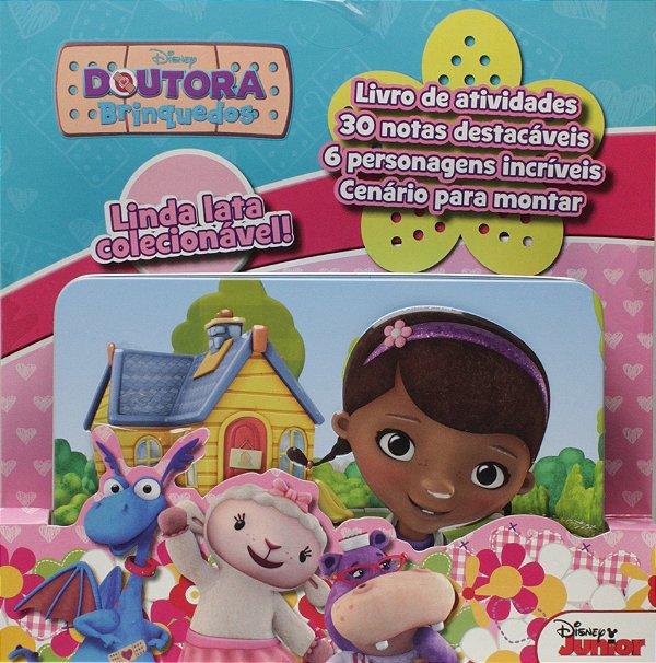 Latinha Colecionável Disney Pop-Up para criar cenário - Doutora Brinquedos