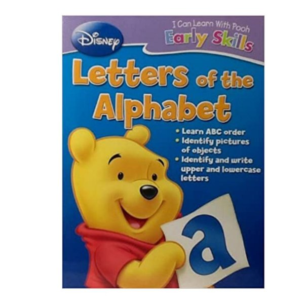 Disney I Can Learn With Pooh - Letras Alfabeto