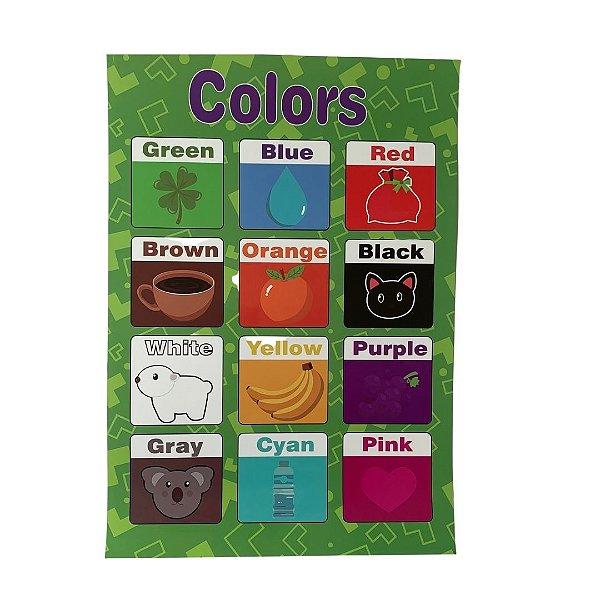 Pôster Cores- Colors