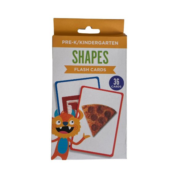 36 Flash Cards -  Shapes
