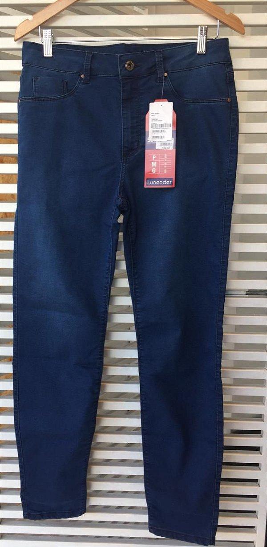 Calça Lunender Skinny Fit For Me Jeans Escuro