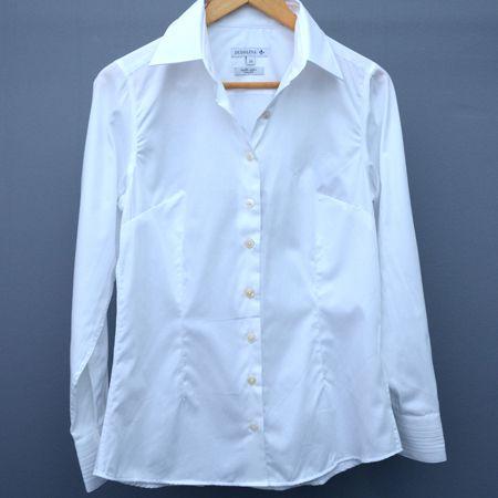 Camisa Feminina Dudalina Branca - N 38
