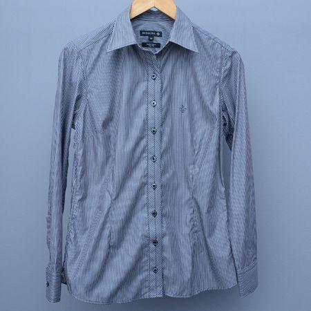 Camisa Feminina Dudalina Cinza - N 38
