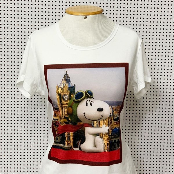 T-shirt Angel Snoopy