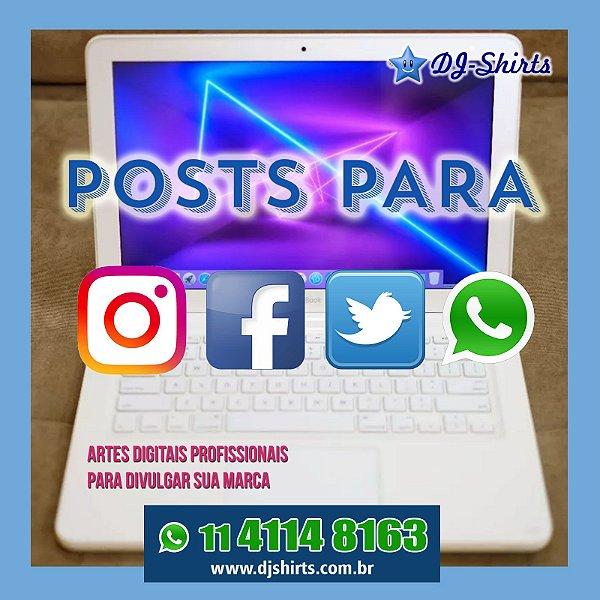 Arte para rede social