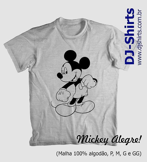 Camiseta Mickey Divertidos (Manga Curta ou Regata)