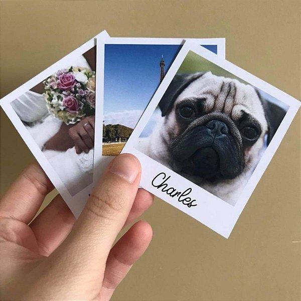 Revelação de fotos Polaroid® (impressão 9x9cm)