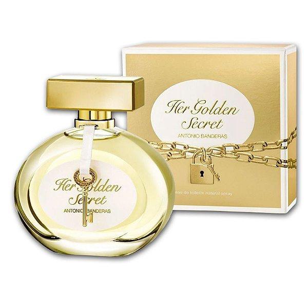 950f7e5e87 Her Golden Secret Antonio Banderas Eau De Toilette Perfume Feminino ...