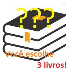 Promoção de aniversário de 6 anos da Caligo: 3 livros por 50 reais