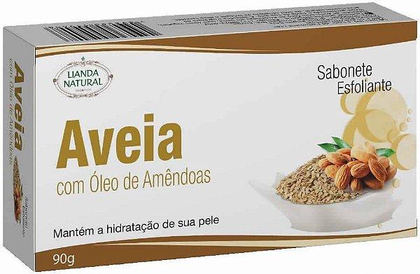 Sabonete Natural Aveia com Óleo de Amêndoas 90g
