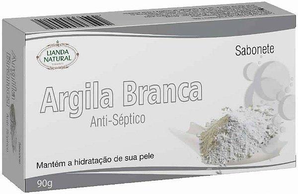 Sabonete Natural Argila Branca 90g