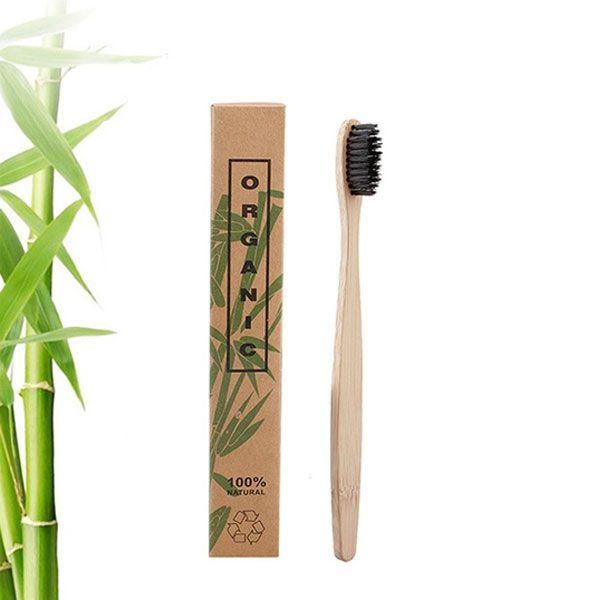 Escova De Dente Ecológica Bambu Biodegradável