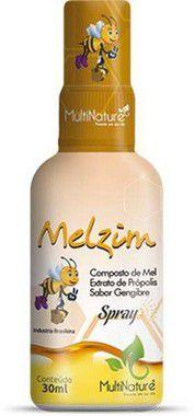Spray composto de Mel Própolis e Gengibre