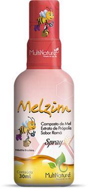 Spray Composto de Mel Própolis e Romã