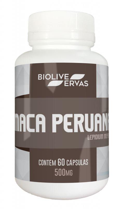 Maca Peruana - 60 Cáps - 500mg