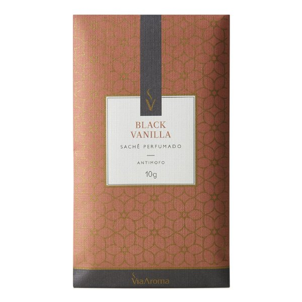 Sachê Perfumado Black Vanilha 10g