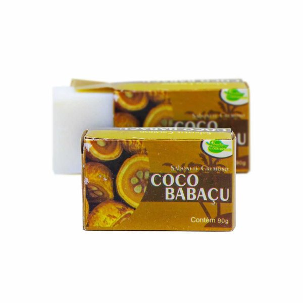 Sabonete Cremoso em Barra Coco Babaçu 90g